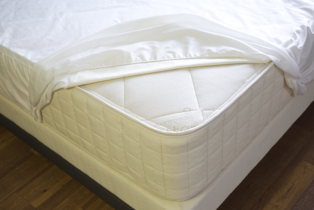 Bedding-Organic Waterproof Fitted Protector Pad_Naturepedic