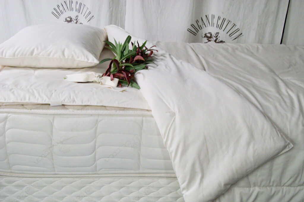 Organic Cotton Pure Grow Wool Mattress-Vivetique