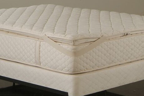 Quilted Wool Mattress Pad_Vivetique